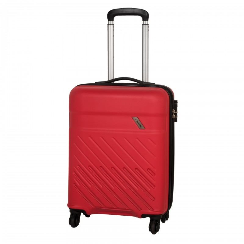 Travelite VINDA Skořepinový kufr z ABS 55cm (Red)