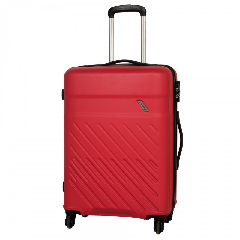 Travelite VINDA Skořepinový kufr z ABS 66cm (Red)