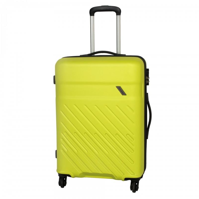 Travelite VINDA Skořepinový kufr z ABS 66cm (Lemon)