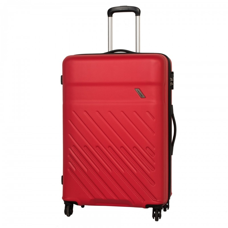 Travelite VINDA Skořepinový kufr z ABS 76cm (Red)