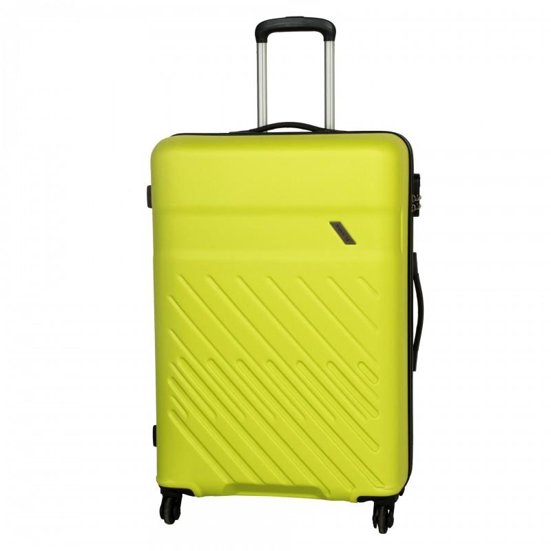 Travelite VINDA Skořepinový kufr z ABS 76cm (Lemon)