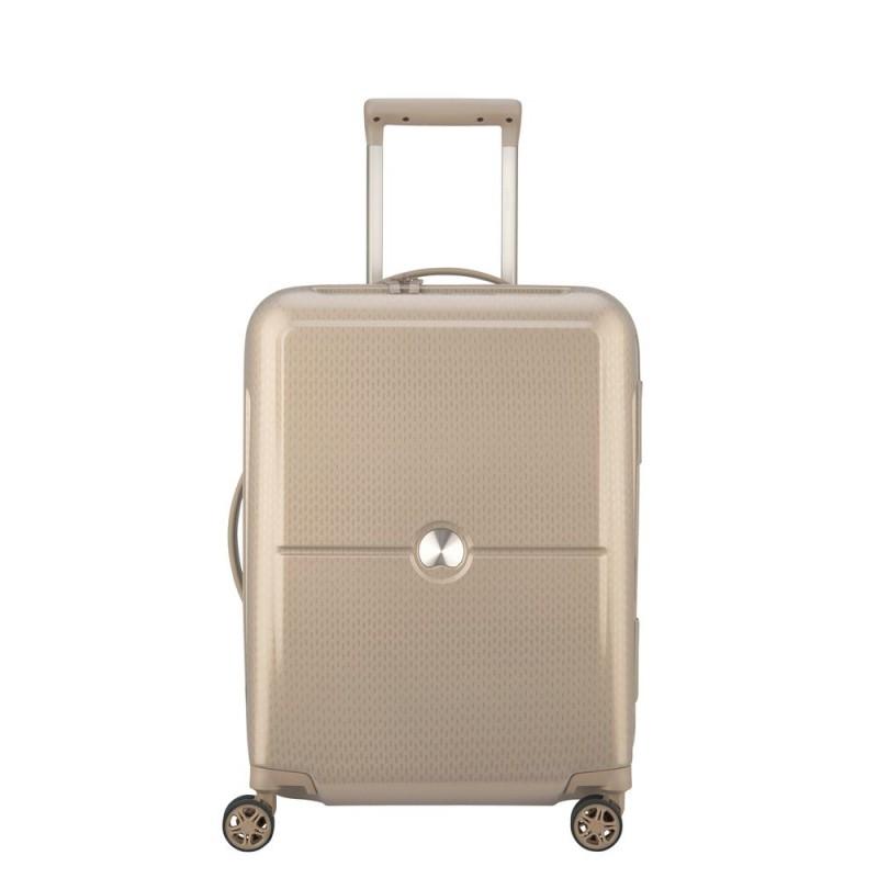 Delsey TURENNE Kabinový kufr 4w 55 cm SLIM (Beige)