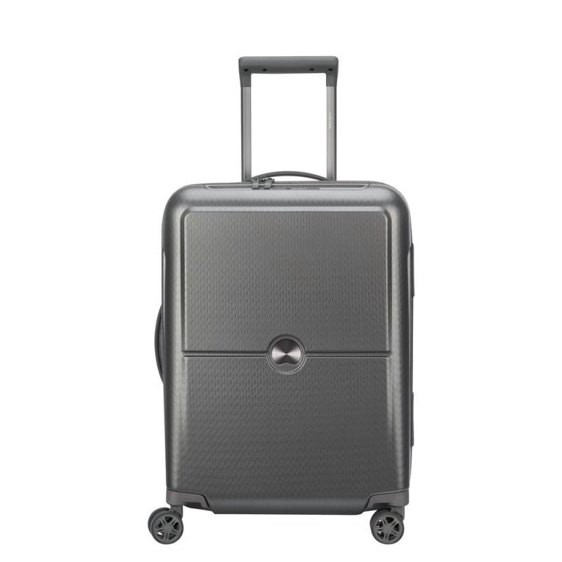 Delsey TURENNE Kabinový kufr 4w 55 cm SLIM (Silver)