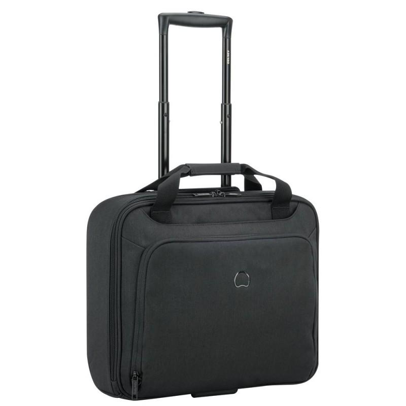 """Delsey ESPLANADE Business kufr jednokomorový s PC ochranou 15,6"""" NTB (Black)"""