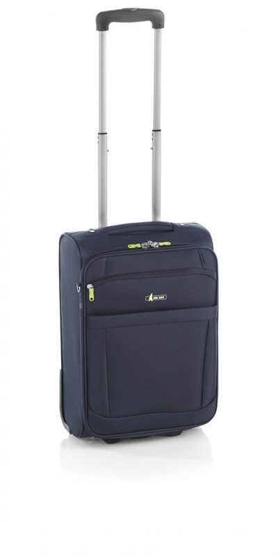 John Travel BEMUS Kufr 2 kolečka 52 cm (Blue)