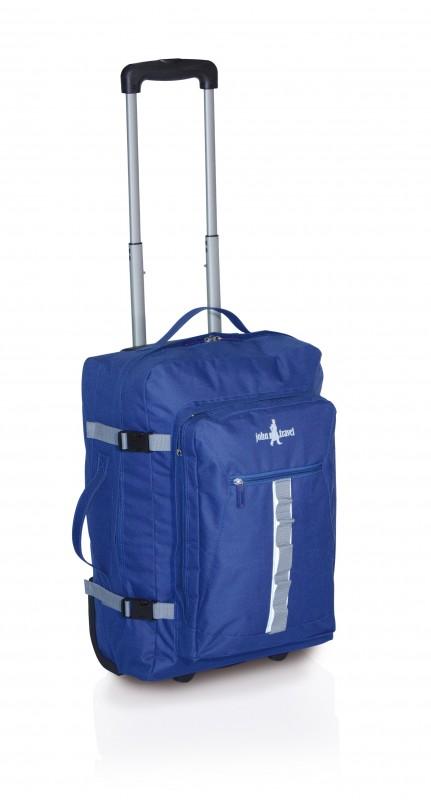 John Travel OWEN Kufr 2 kolečka 52 cm (modrý)