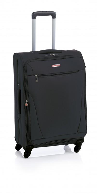 John Travel BERSI Kufr 4 kolečka 66 cm (černý)