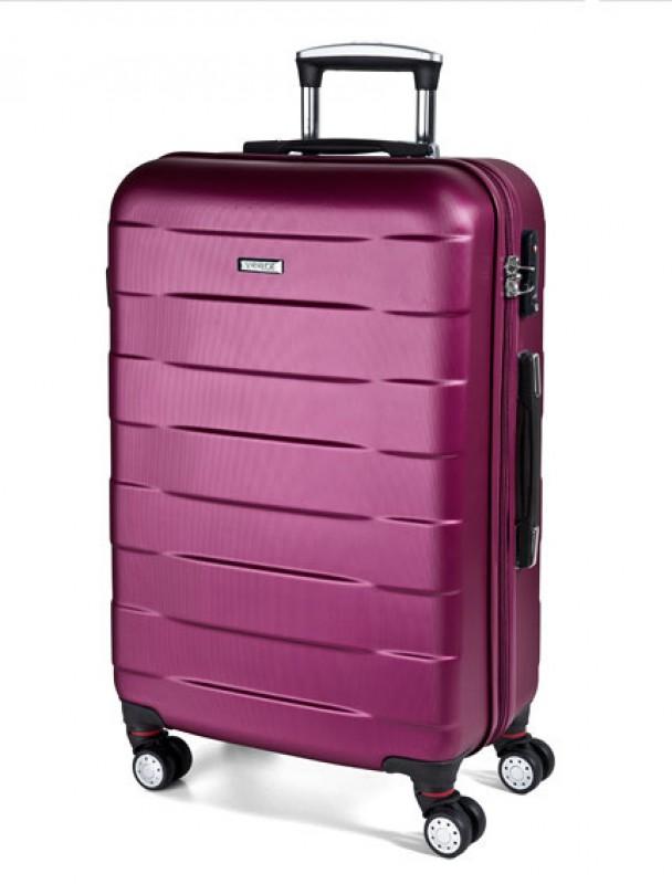 March BUMPER Cestovní kufr 4 kolečka 76 cm, L (fialový)