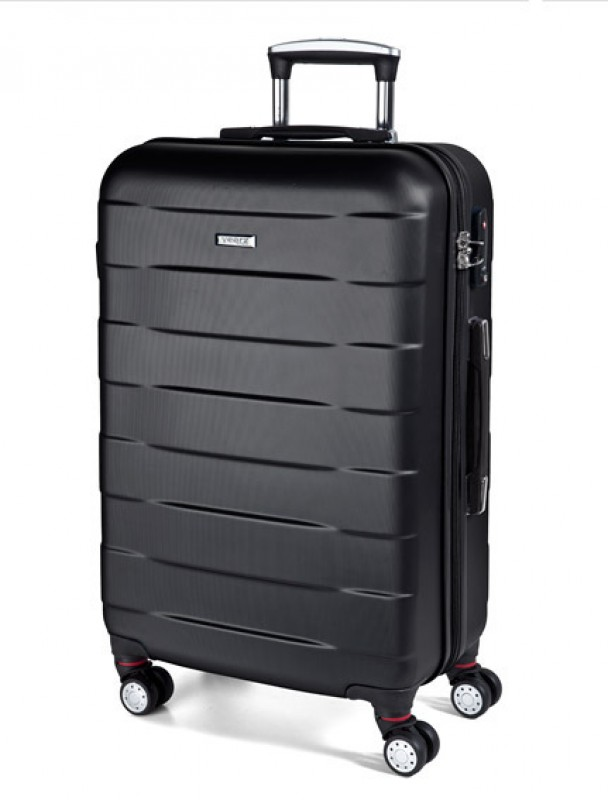 March BUMPER Cestovní kufr 4 kolečka 76 cm, L (černý)