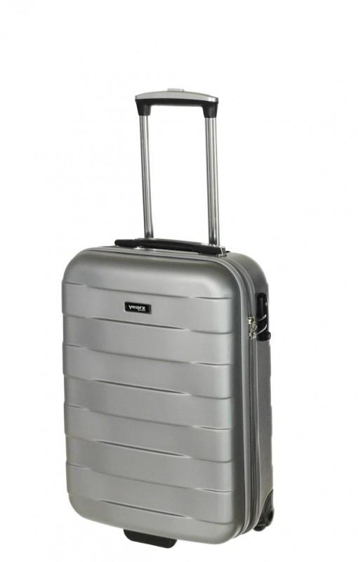 March BUMPER Palubní kufr 2 kolečka 55 cm, S (stříbrný)