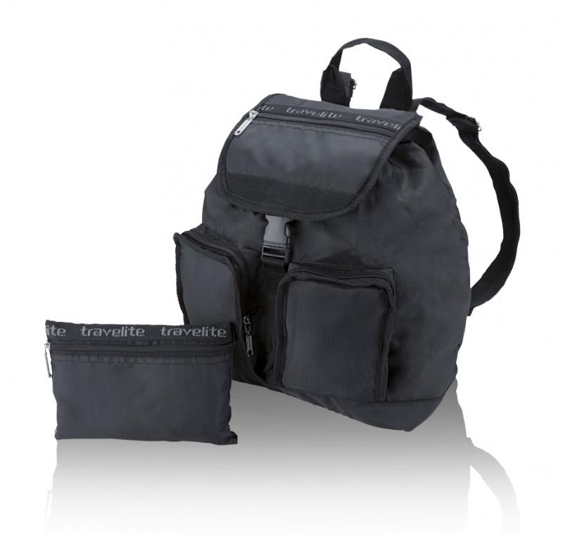 Travelite MINIMAX Skládací batoh 21 l (černý)