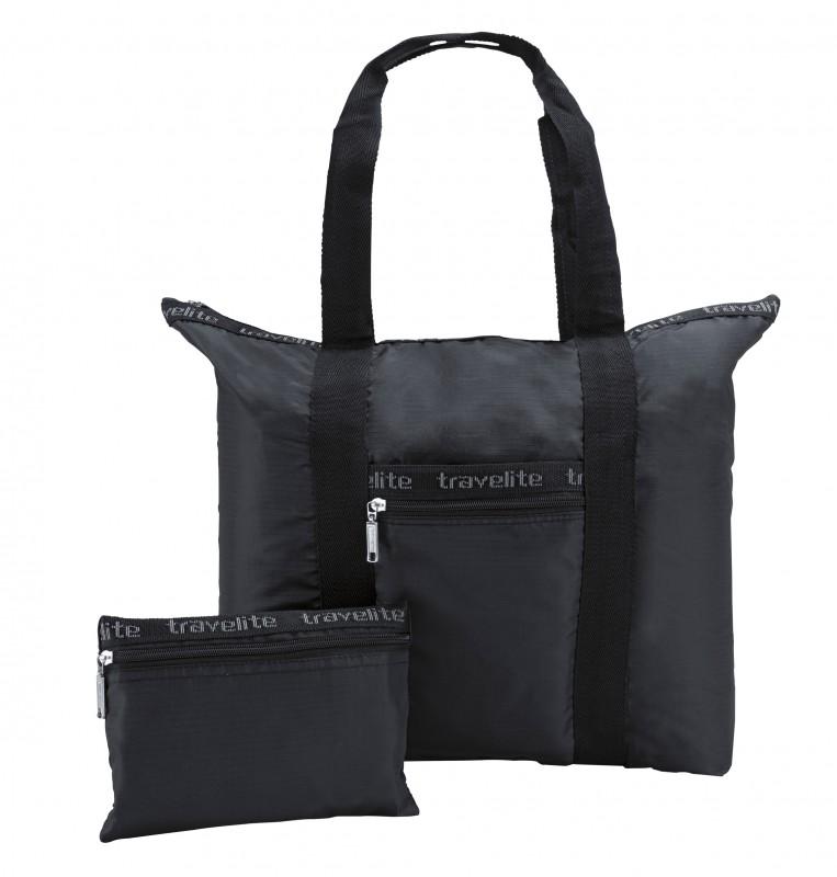 Travelite MINIMAX Skládací nákupní taška (černá)