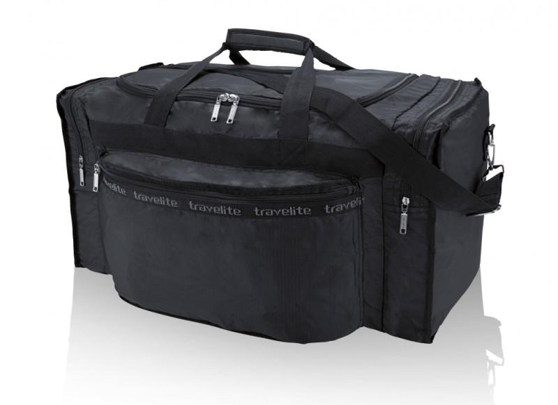 Travelite MINIMAX Skládací cestovní taška, S (černá)