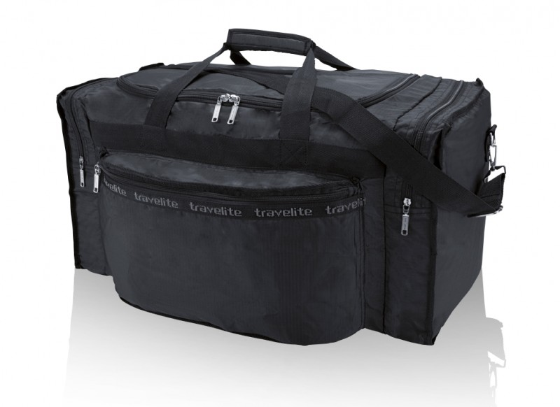 Travelite MINIMAX Skládací cestovní taška, M (černá)