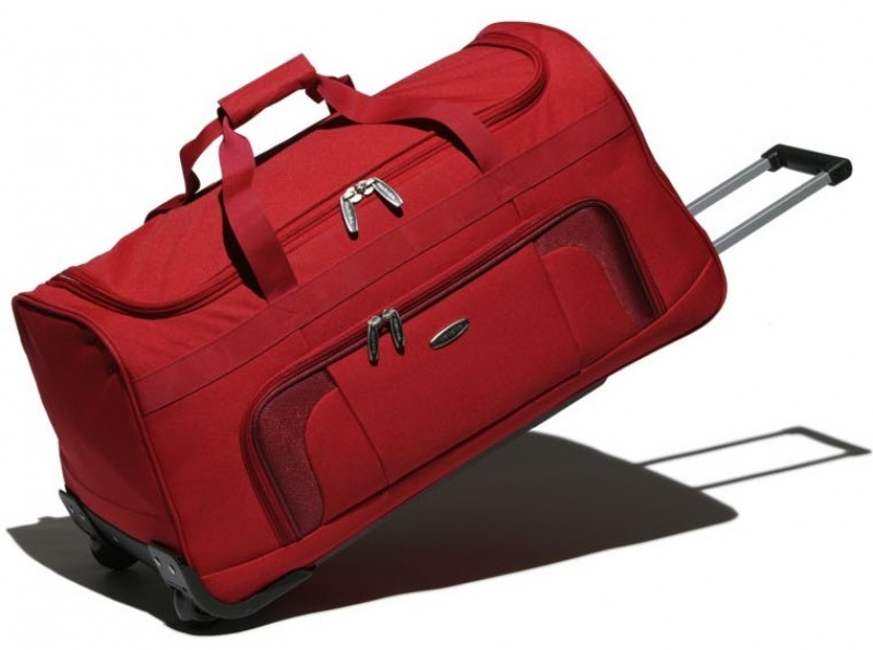 Travelite ORLANDO Cestovní taška na kolečkách (červená)