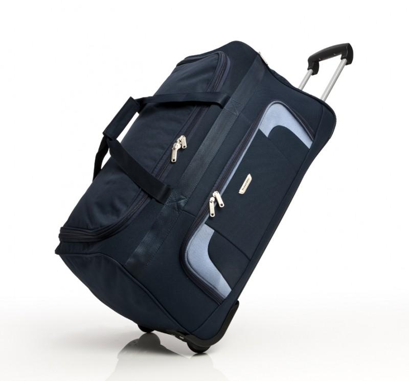 Travelite ORLANDO Cestovní taška na kolečkách (modrá)