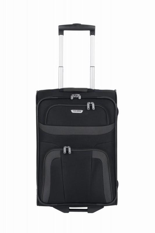 Travelite ORLANDO Palubní kufr 2 kolečka 53 cm, S (černý)