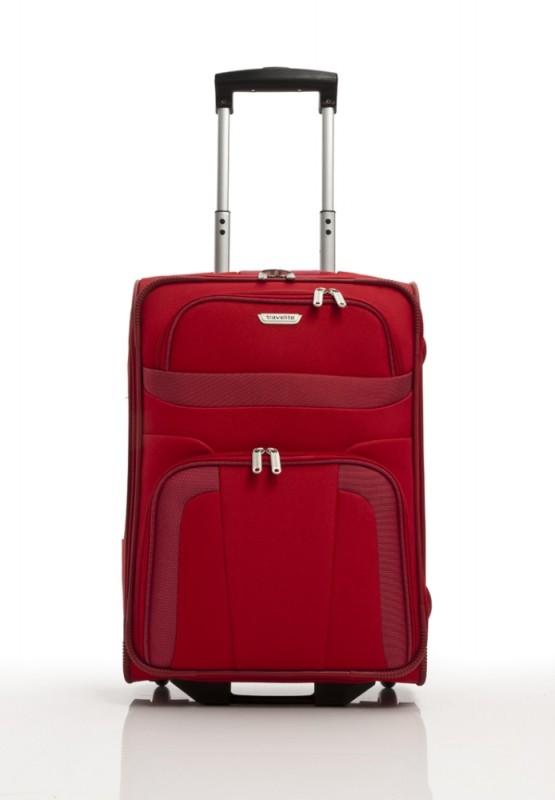 Travelite ORLANDO Palubní kufr 2 kolečka 53 cm, S (červený)