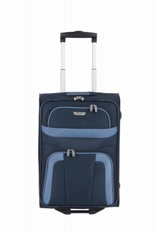 Travelite ORLANDO Palubní kufr 2 kolečka 53 cm, S (modrý)