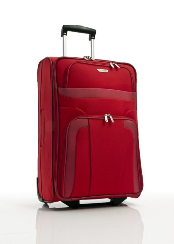Travelite ORLANDO Cestovní kufr 2 kolečka 63 cm, M (červený)