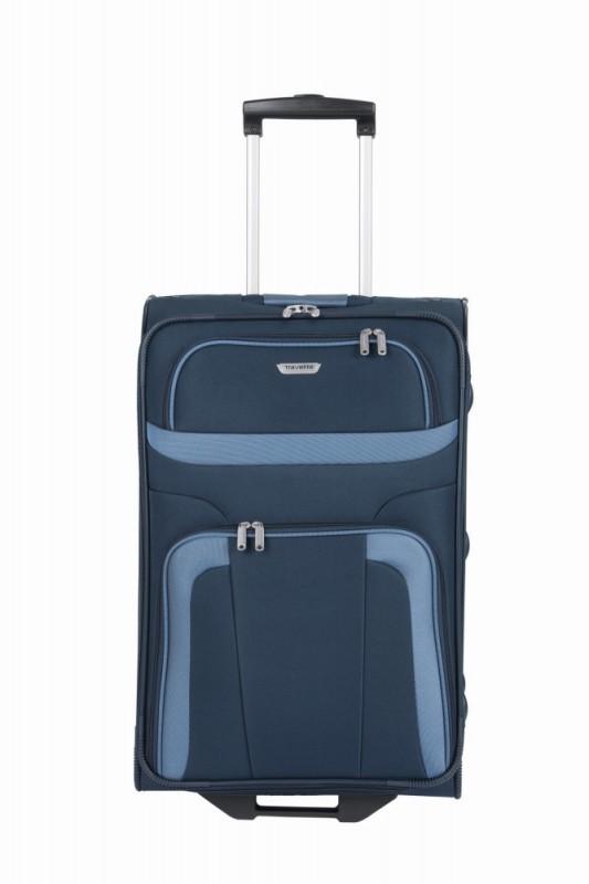 Travelite ORLANDO Cestovní kufr 2 kolečka 63 cm, M (modrý)