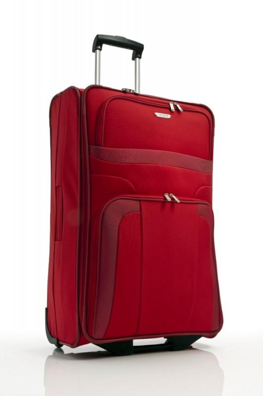 Travelite ORLANDO Cestovní kufr 2 kolečka 73 cm, L (červený)