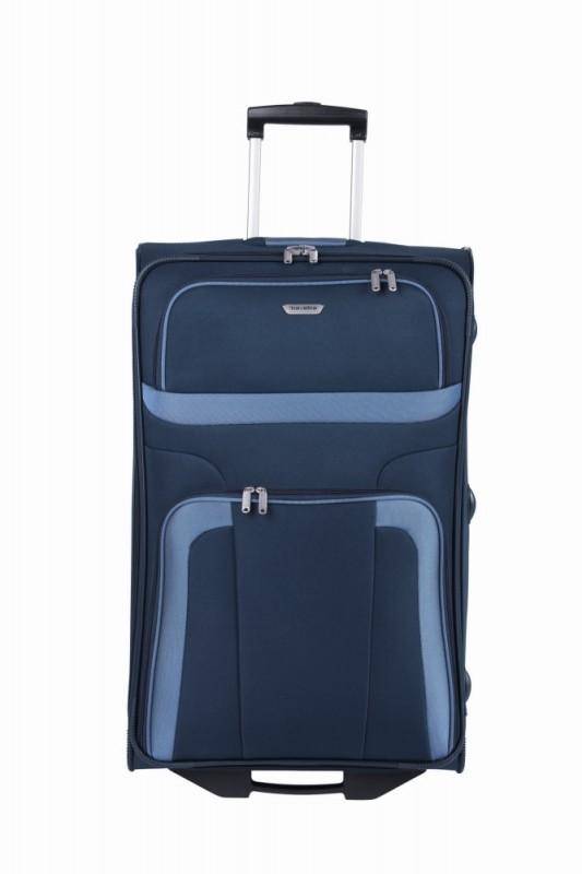 Travelite ORLANDO Cestovní kufr 2 kolečka 73 cm, L (modrý)