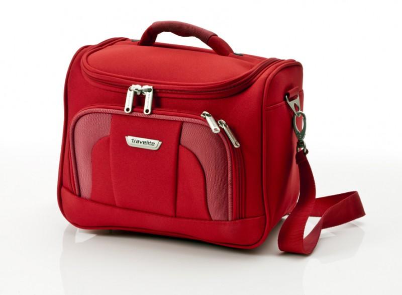 Travelite ORLANDO Kosmetický kufřík (červený)
