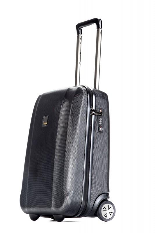 Titan XENON Palubní kufr 2 kolečka 53 cm, S (černý)