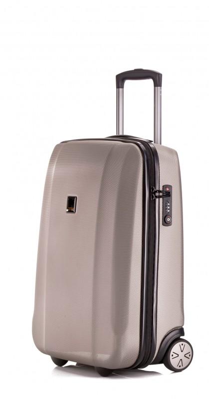 Titan XENON Palubní kufr 2 kolečka 53 cm, S (béžová)