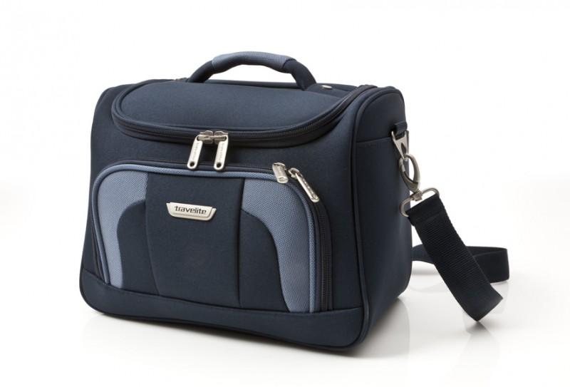 Travelite ORLANDO Kosmetický kufřík (modrý)