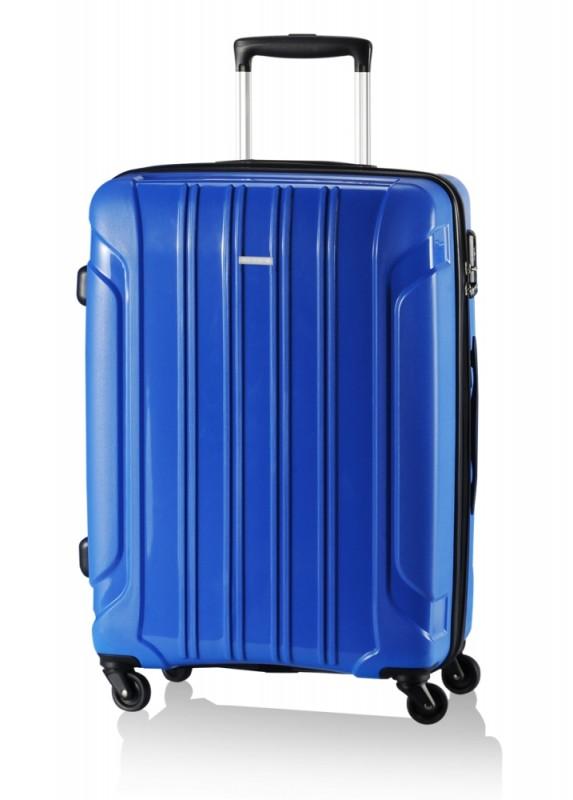 Travelite COLOSSO Kabinový kufr 4 kolečka 55 cm, S (modrý)