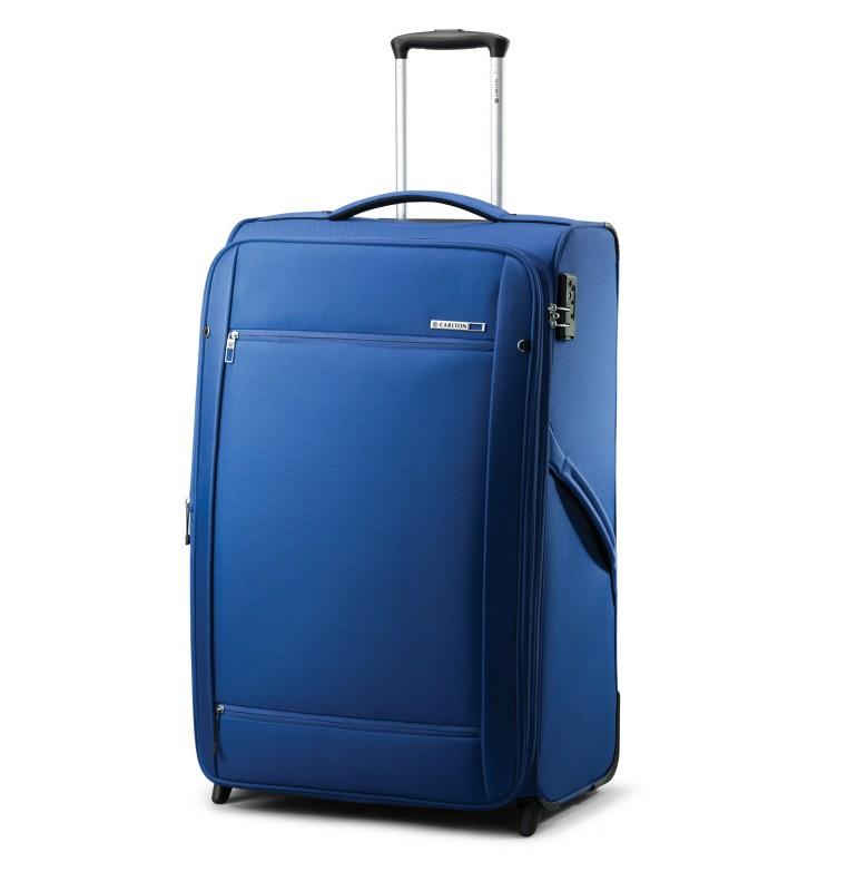 Carlton O2 Expandable Trolley Case 65cm (modrý)