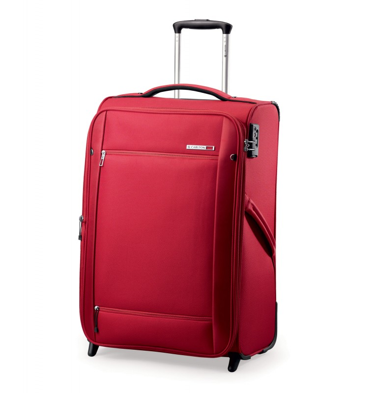 Carlton O2 Expandable Trolley Case 65cm (červený)