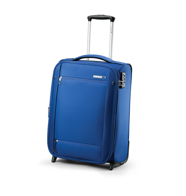 Carlton O2 Expandable Trolley Case 55cm (modrý)