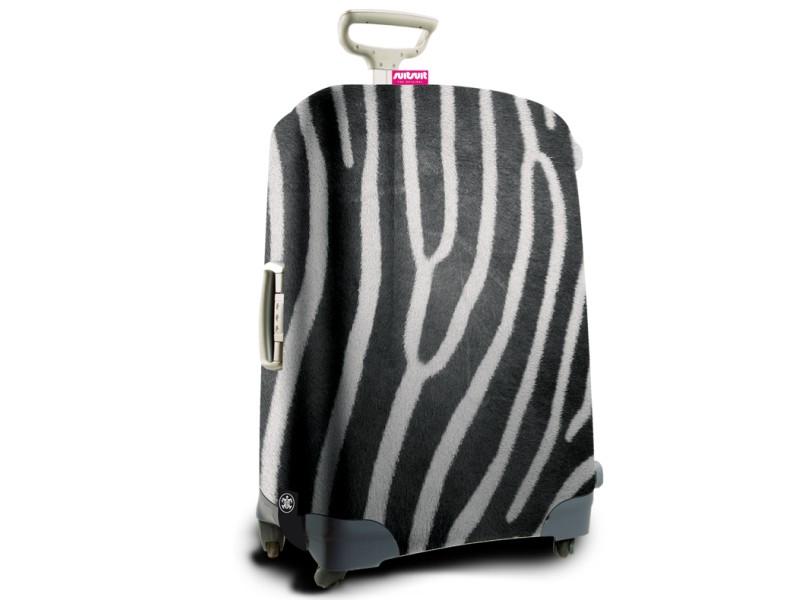 SuitSuit - Obal na kufr - vzor Zebra