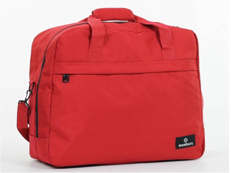 Member's ESSENTIAL ON-BOARD Cestovní taška 55 cm, S (červená)