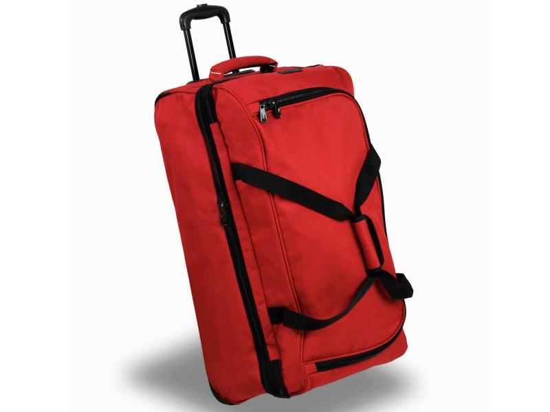 Member\'s TT-0032 Rozšířitelná cestovní taška na kolečkách 81cm (červená)