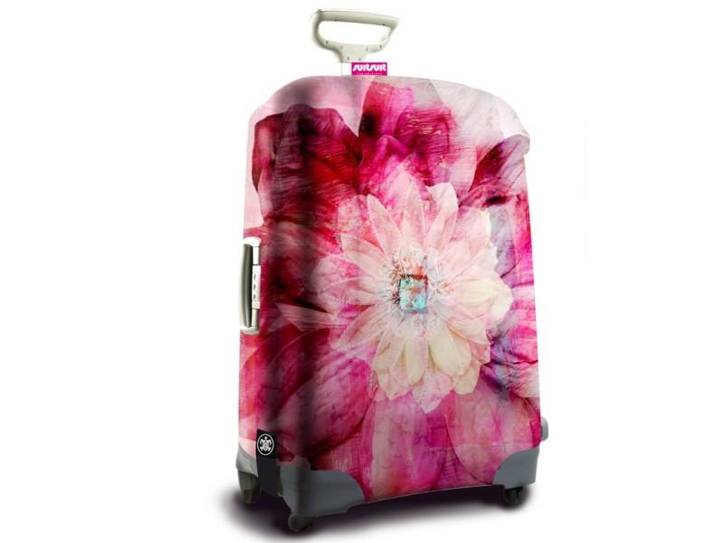 SuitSuit - Obal na kufr - vzor Bohemian Rose
