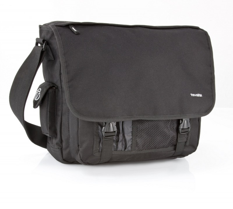 Travelite BASICS Messenger Bag (černý)