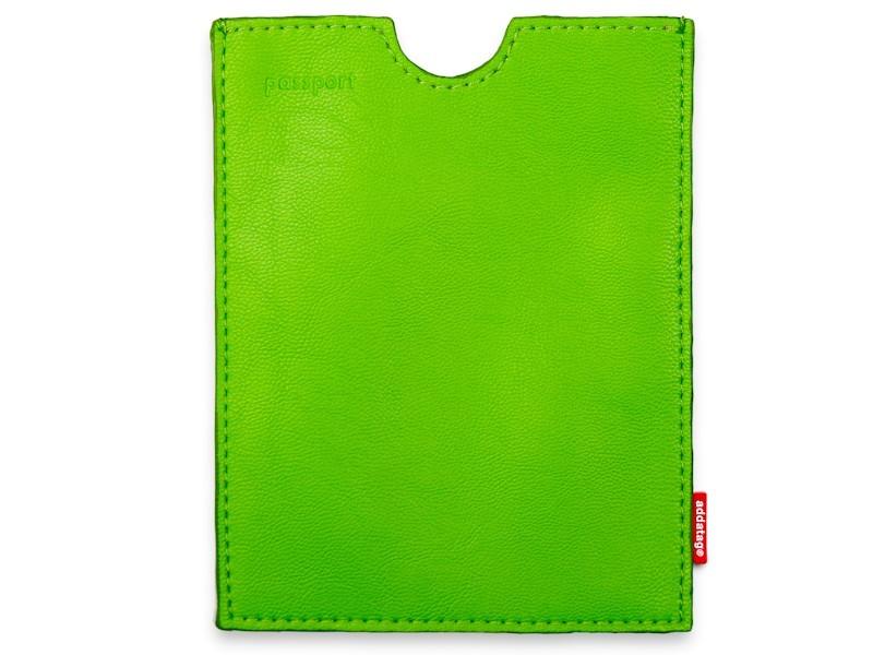 Addatag - Obal na cestovní pas - zelený