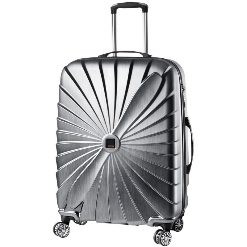 Titan TRIPORT Stylový cestovní kufr 4w 65cm, M (antracit)