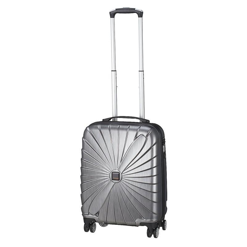 Titan TRIPORT Stylové kabinové zavazadlo 4w, S (antracit)
