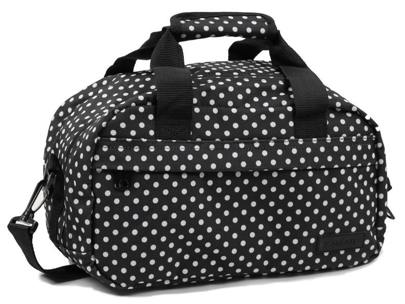 Member's ESSENTIAL ON-BOARD Cestovní taška 20 cm, XS (černá/ bílá)