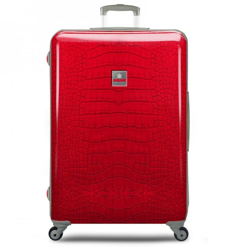 SuitSuit CROCODILE Cestovní kufr 77cm (červený)