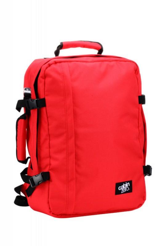 CabinZero CLASSIC ULTRA-LIGHT Odlehčený batoh 44 l (Mysore Red)