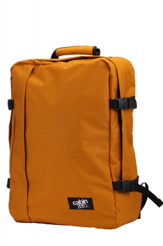CabinZero CLASSIC ULTRA-LIGHT Odlehčený batoh 44 l (Orange Chill)