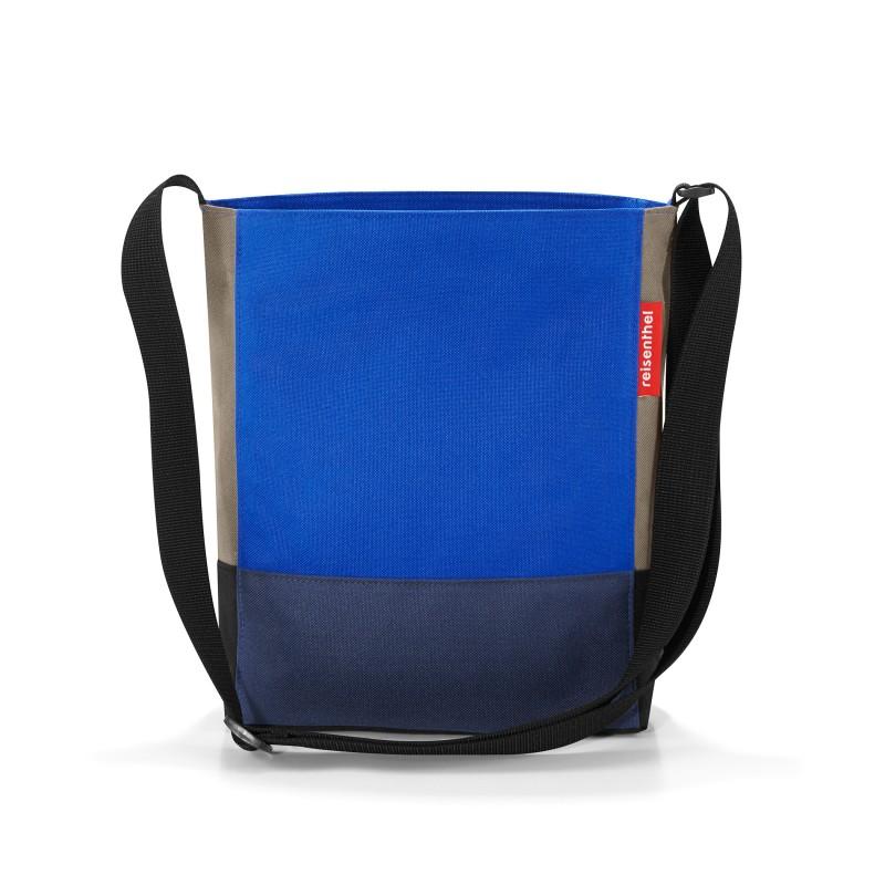 Reisenthel SHOULDERBAG S Taška přes rameno (Patchwork Royal Blue)