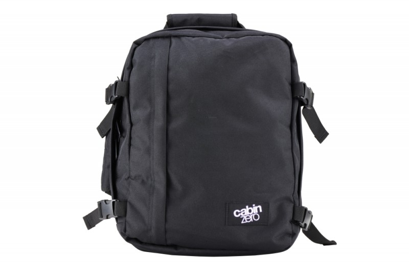 CabinZero MINI ULTRA-LIGHT Odlehčený batoh 28 l (Absolute Black)