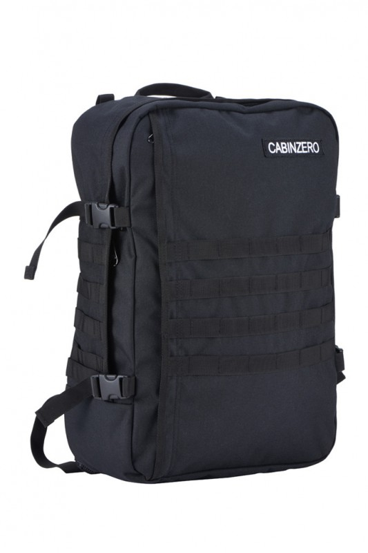CabinZero MILITARY Palubní batoh 44 l (Absolute Black)